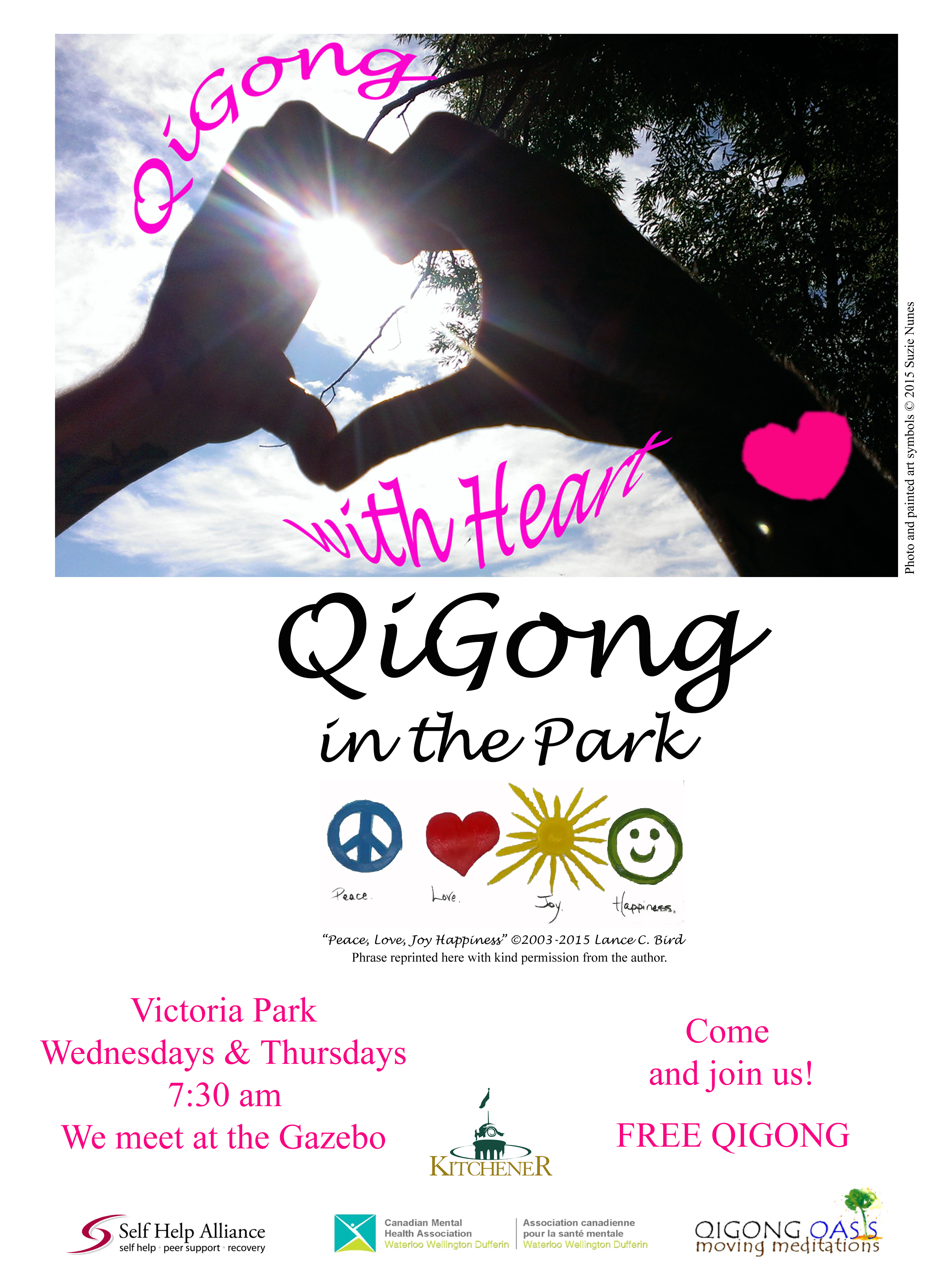 QiGong at the Victoria Park – Kitchener | QiGong Oasis